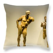 Ancient Greek Artifacts  Throw Pillow
