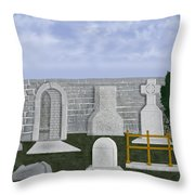 Ancient Irish Stones Image 9577 The Beverlee Chronicles Throw Pillow