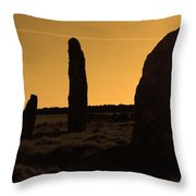 Ancient Monument Throw Pillow