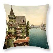 Ancient Paris Throw Pillow