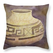 Ancient Pottery Throw Pillow