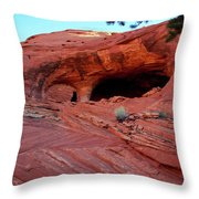 Ancient Ruins Mystery Valley Colorado Plateau Arizona 01 Throw Pillow