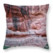 Ancient Ruins Mystery Valley Colorado Plateau Arizona 03 Throw Pillow