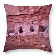 Ancient Ruins Mystery Valley Colorado Plateau Arizona 04 Throw Pillow