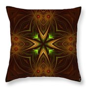 Ancient Times In The Past Throw Pillow