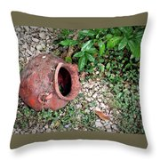 Ancient Urn 1 Throw Pillow