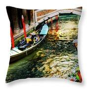 ancient Venice Throw Pillow