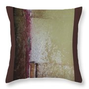 Ancient Wall Throw Pillow