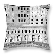 Ancient Windows Throw Pillow