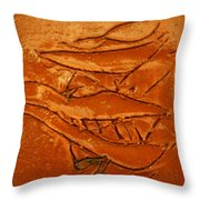 Ancients Live - Tile Throw Pillow