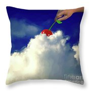 And A Cherry On Top Throw Pillow