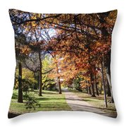 And Again Throw Pillow