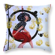 And All That Jazz Throw Pillow
