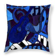 and All that Jazz one Throw Pillow