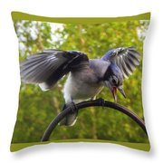 And Further More Throw Pillow