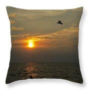And God Said... Throw Pillow