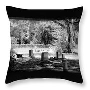 And Here We Rest Throw Pillow