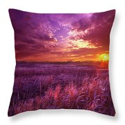 And I Dreamt Of Waking Throw Pillow