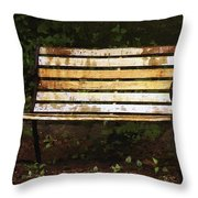 And I Waited Throw Pillow