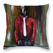 And If The Cloud Bursts... Throw Pillow