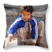 And In And Out Throw Pillow