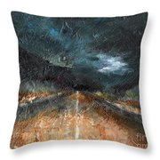 And Life Goes On Throw Pillow