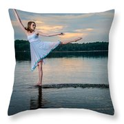 And One Throw Pillow