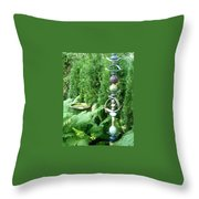 And Sculpture Garden Throw Pillow