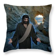 And Surely I Am With You Always To The Very End Of The Age Throw Pillow