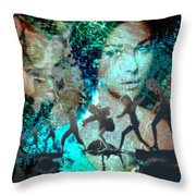 And That Reminds Me Throw Pillow