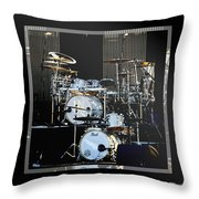 And The Beat Goes On.... Throw Pillow