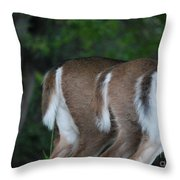 And The Butts Have It Throw Pillow