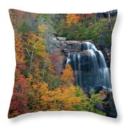 And The Leaves Will Fall Throw Pillow