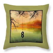 ...and The Livin' Is Easy... Throw Pillow
