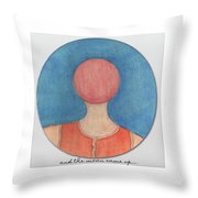 And The Moon Came Up Throw Pillow