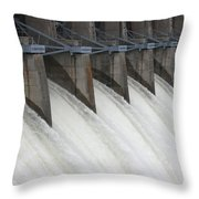 And The Torrents Poured Forth Throw Pillow