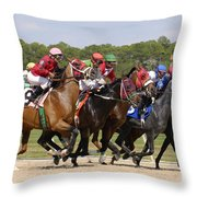 And Their Off Throw Pillow