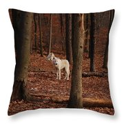 And Then There Were Three Throw Pillow