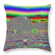 And There Were Rainbows Throw Pillow
