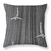 And When The Rain Began... Throw Pillow