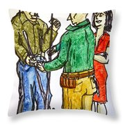 And When You Finish With That... Throw Pillow