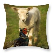 And Who Are You Throw Pillow