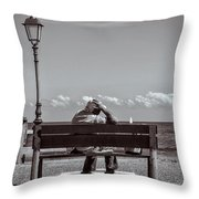 And Yet I Remember The Sea Throw Pillow