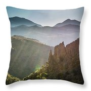Andalucia Morning Throw Pillow