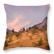 Andalucian Landscape Near Zahara De La Sierra Spain Throw Pillow