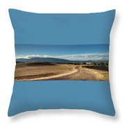 Andalusian Landscape. Ronda Throw Pillow