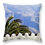 Andalusian View Throw Pillow