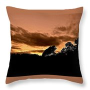 Andalusian Woods Throw Pillow