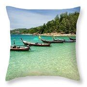 Andaman Coast Throw Pillow