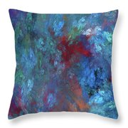 Andee Design Abstract 1 2017 Throw Pillow by Andee Design